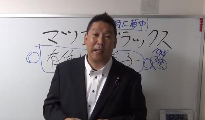 立花孝志マツコ裁判