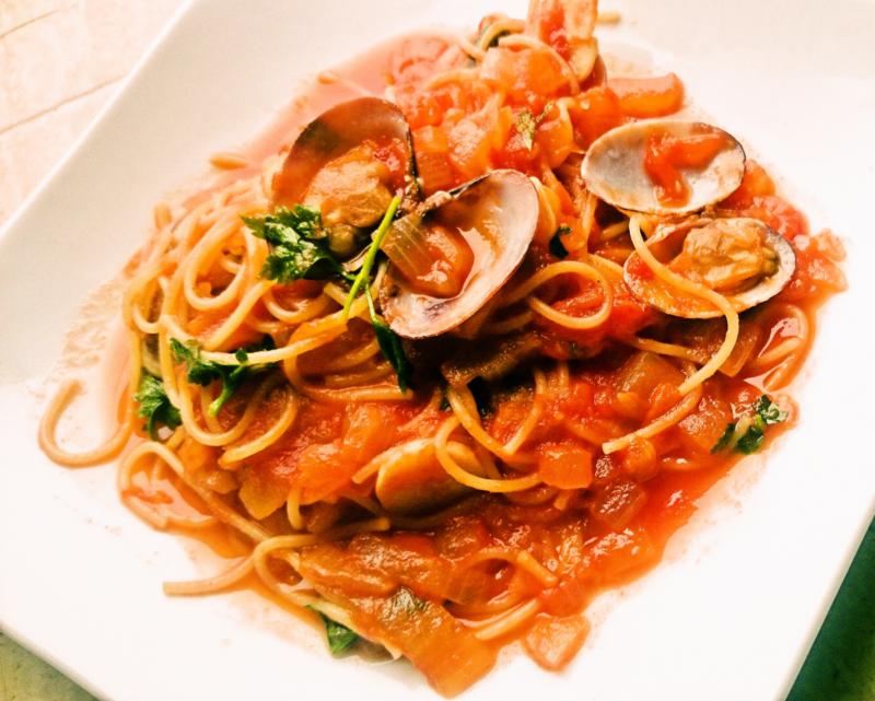 イタリア料理パスタ2品