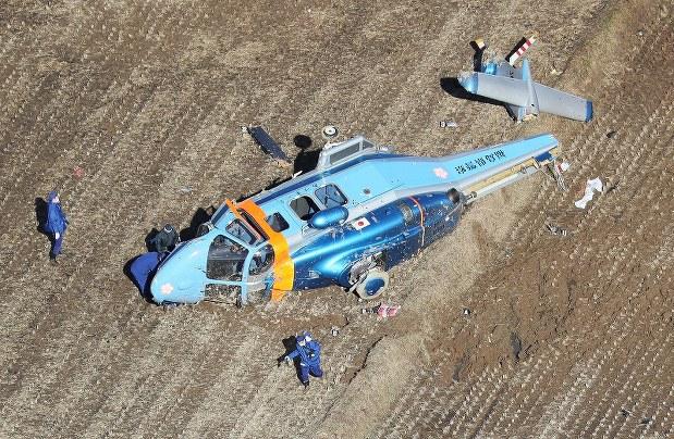 福島県警ヘリ墜落場所
